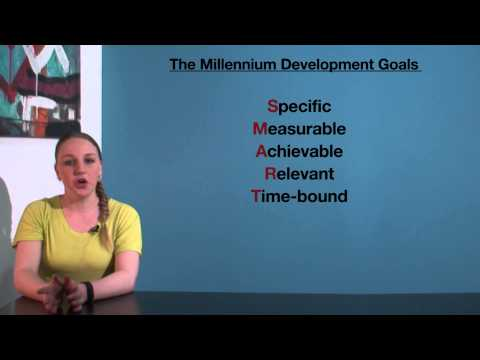 VCE HHD - The Millennium Development Goals