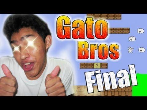 Gato Bros - FINAL (Ultimo Nivel)   en español por fernanfloo