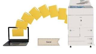 Cara Mengirim File dari Mesin Fotocopy ke Komputer