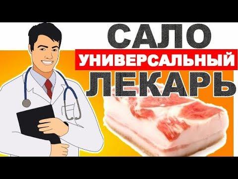 Вот Почему Среди ДОКТОРОВ - НЕТ ВЕГЕТАРИАНЦЕВ! Сало - универсальный лекарь.