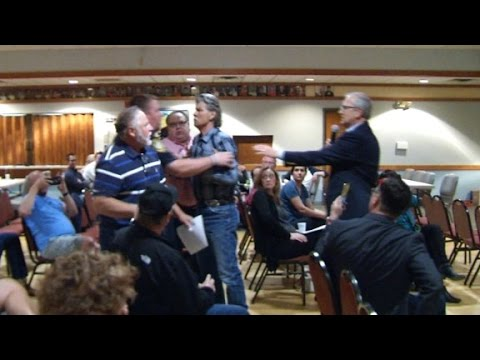 Anger erupts at fiery GOP town halls