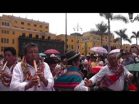 Pinquillada De Moho Puno, En Lima 2015