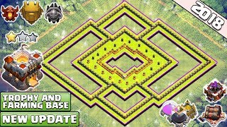 Town Hall 11 TROPHY/FARMING Base 2018   Best TH11 Defense Base   Anti 2 Star - Clash of Clans 7.83 MB