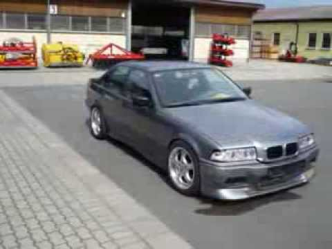 BMW 320 E36 Tuning Video