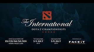 Dota 2 live  [ENG CASTER] INTERNATIONAL 2019 EUROPE REGIONAL QUALIFIERS l GAME 3