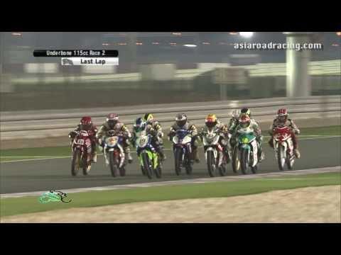 Round 6 Qatar - Underbone 115cc Race 2 (full) - PETRONAS Asia Road Racing Championship