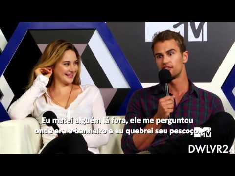Theo James// Funny & Sexy Moments- Part 2
