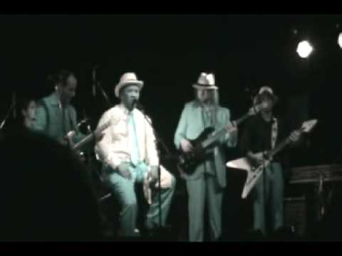 Mud Morganfield with his Argentina blues band - Honey Bee - la trastienda