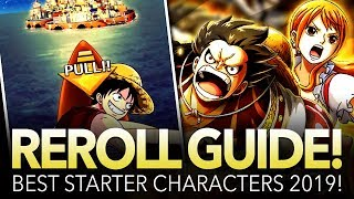 GLOBAL REROLL GUIDE! Best Starter Characters! (ONE PIECE Treasure Cruise)