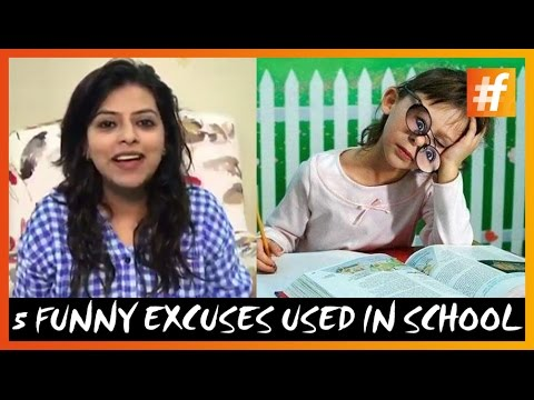 5 Funny Excuses To Skip Studies In School | DDevagana | #fame Comedy