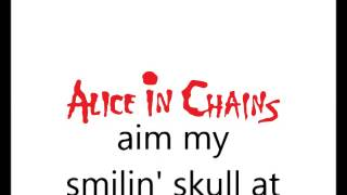 Alice In Chains   Sea Of Sorrow (with lyrics)
