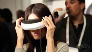 CES 2011_ Sony 3D Head Mounted Display