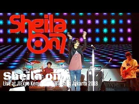 Tunjukkan Padaku   Dan   Sheila on7 BigBang Jakarta 2017  JIEXPO Kemayoran