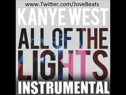 Kanye west all of the lights instrumental