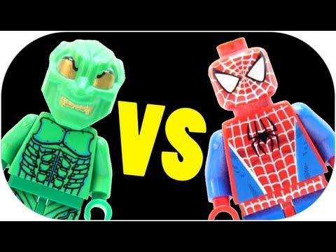 LEGO 4852 The Final Showdown LEGO Spider-Man Review