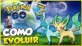 LEAFEON E GLACEON CHEGARAM! (SAIBA EVOLUIR!), NOVOS LURES E MAIS! - Pokémon Go | PokeNews