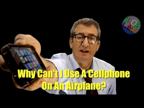 Why Can't I Use A Cell Phone On A Plane?