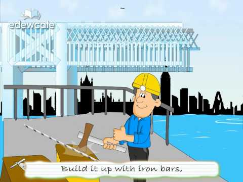 English Nursery Rhymes for Children – London Bridge is falling down