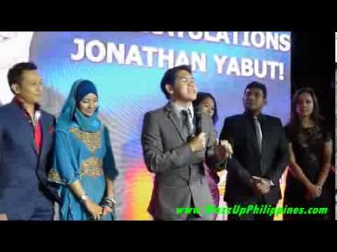 Filipino Winner Jonathan Yabut Speech at The Apprentice Asia Finale Party