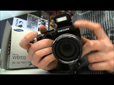 Samsung WB100 Unboxing Video
