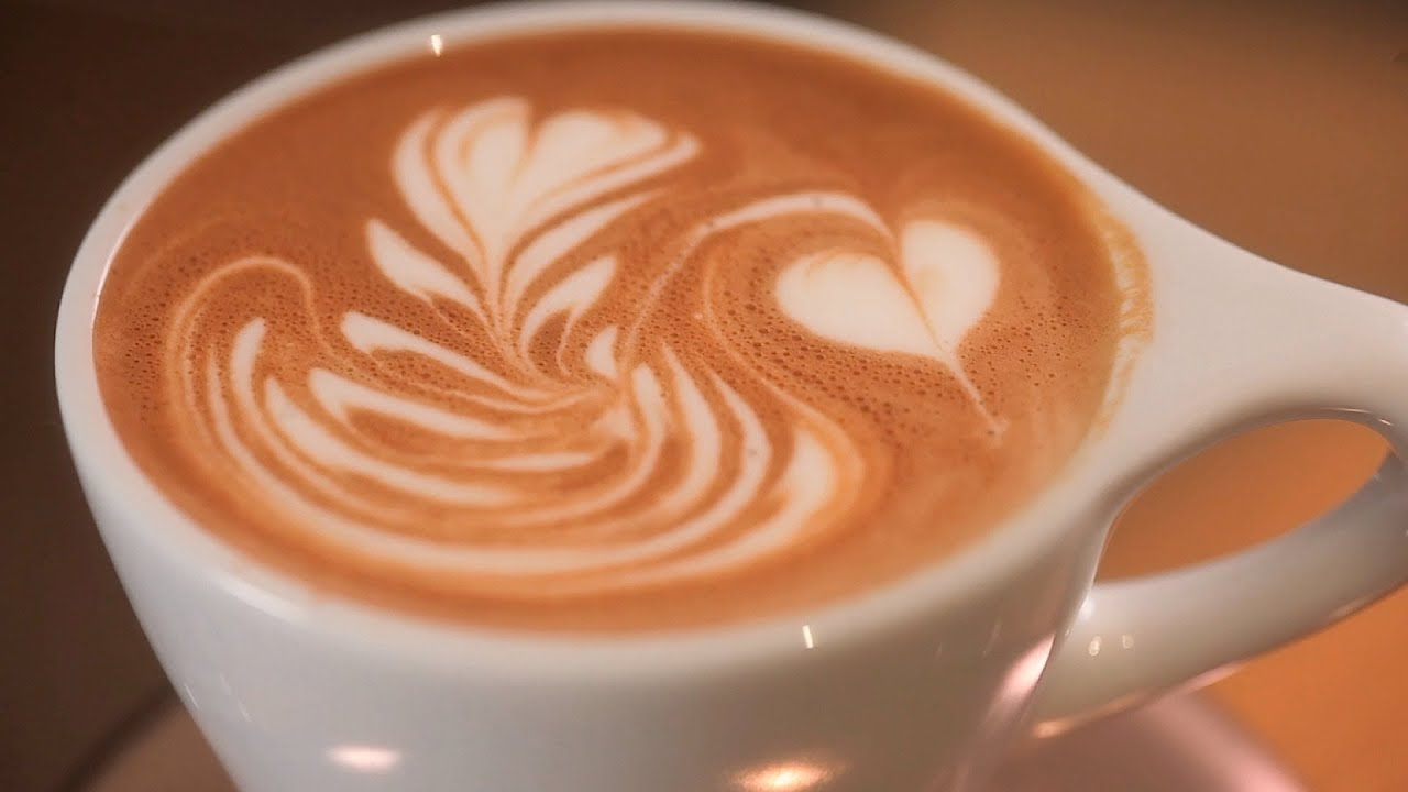 how to pour a swan latte art youtube. Black Bedroom Furniture Sets. Home Design Ideas