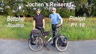 Reiserad Böttcher Roadtrip Pinion P1.18 mit verbesserter Ausstattung