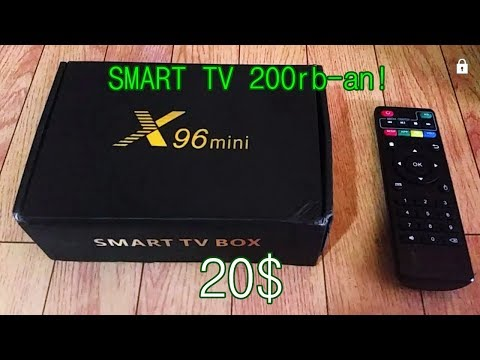 Review Singkat - Smart TV Box X96 mini | Smart TV 20$ termurah di Shopee! 200rb-an STB ANDROID