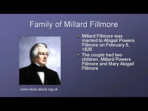 President Millard Fillmore Biography
