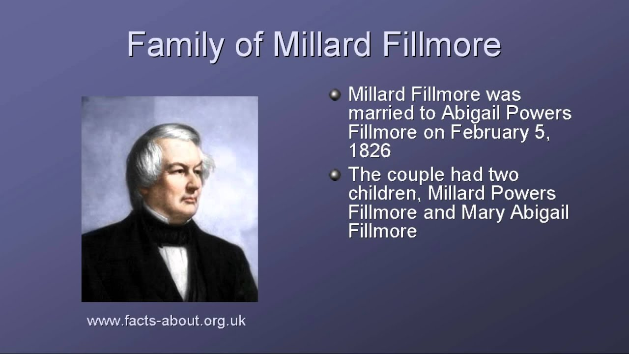 the life and administration of millard fillmore Millard fillmore download millard  description : presents the life and political career of the thirteenth president of the united states,.