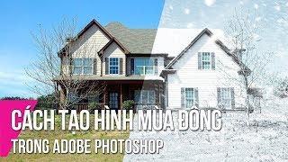 Summer To Winter In Adobe Photoshop   Thuy Uyen Design