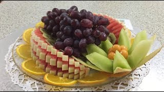 Tutorial 🍉🍇🍊 Watermelon do it yourself - By JUST FOR FUN Vegetables and Fruit Decoration