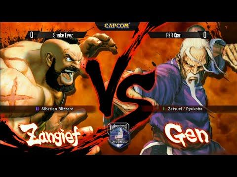 USFIV: Snake Eyez vs RZR Xian - TFC 2014 Grand Finals  - Capcom Pro Tour Top 16