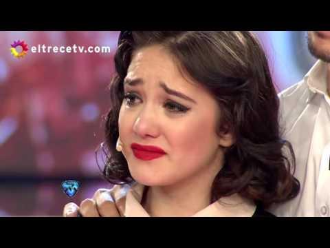 La emoción de Ángela Torres tras el homenaje a su abuela