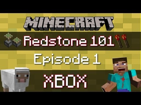 Redstone 101 - Minecraft Xbox 360  - HOW TO MAKE A FULLY AUTOMATIC BRIDGE & COBBLESTONE GENERATOR !!
