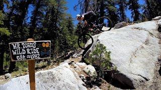 Mr. Toad's Wild Ride | Mountain Biking Saxon Creek Trail in South Lake Tahoe