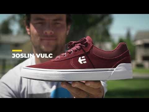 Joslin Talks Vulc: The Design & features of his etnies Joslin Vulc