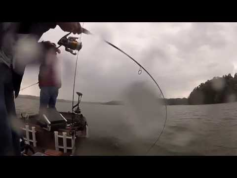 Fishing Pre-Tornado on Lake Allatoona