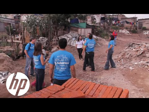 HP volunteers: Techo Project, Mexico (closed captioning language subtitles available)