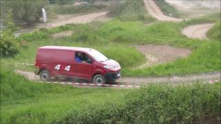 Driving Citroën Jumpy Dangel 4x4