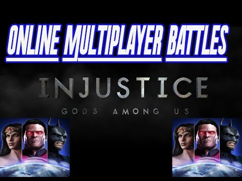 Injustice: Gods Among Us iOS 2.0 Adds [NEW ONLINE MULTIPLAYER BATTLES] iOS April 2014