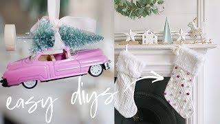 Easy DIY Christmas Decorations and Hacks   Christmas Home Decor 2018