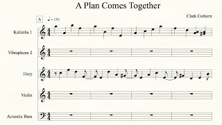 A Plan Comes Together - by Clark Cothern (1957 -  ) [BMI]