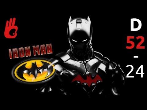 Batman con la armadura de Ironman - Cómo dibujar bien -- Batman Arkham knigth -- Dibujar Bien.com