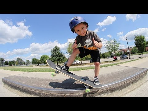 Father Son Skateboard Session!