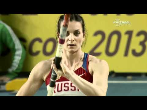 W Pole Vault (Yelena Isinbayeva wins 4th Indoor title, World Indoors 2012)