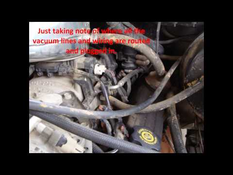 Dodge Magnum V8 Intake Plenum Pan Gasket Replacement