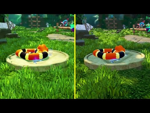Snake Pass Nintendo Switch vs PS4 Graphics Comparison