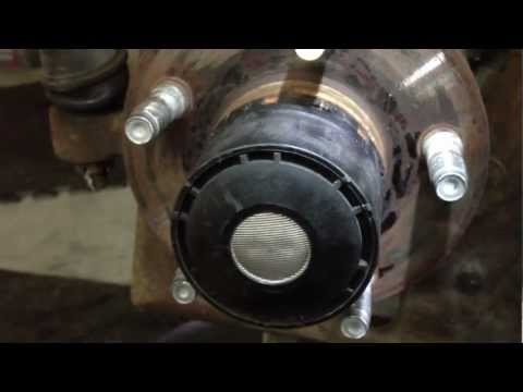 Remove 1998-2000 Ford Ranger 4x4 Pulse Vacuum Hub without the special Ford Tool