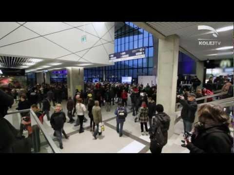 KolejTV - 12.11.2012 R. - Nowy Dworzec W Katowicach, Tour D'Europe