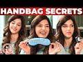 Actress Mehreen Pirzada Handbag Secrets Revealed! | What's Inside The HANDBAG